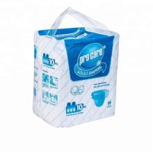 Pe films cheap disposable adult diaper