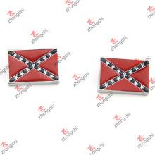Al por mayor rojo bandera diapositivas encantos para accesorios de moda (ss15121450)