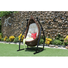 Stunning Outdoor Patio Garden Wicker Swing Chair Poly Rattan Hammock