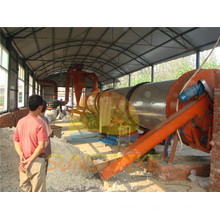 Good Quality Cassava Dregs Rotary Drum Dryer Supplier