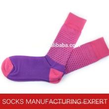 Женская мода гребень хлопок носок (UBM1023)