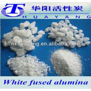 99.5% AL2O3 abrasive and refractory white fused alumina