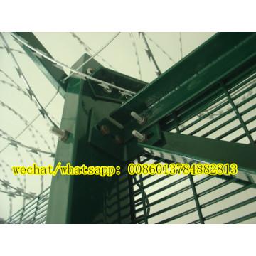 Barrera de panel soldado con el más alto nivel de seguridad