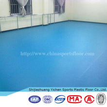 plastic flooring acoustic and fireproof dance floor vinyl pvc roll