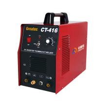Inverter DC TIG MMA CUT CT416 máquina de solda