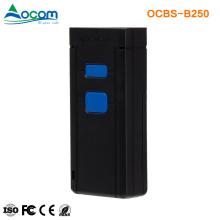 OCBS-B250 Mini portátil inalámbrico portátil Bluetooth Bluetooth Barcode Scanner con memoria