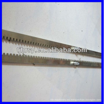 Engranaje del estante para la máquina del CNC
