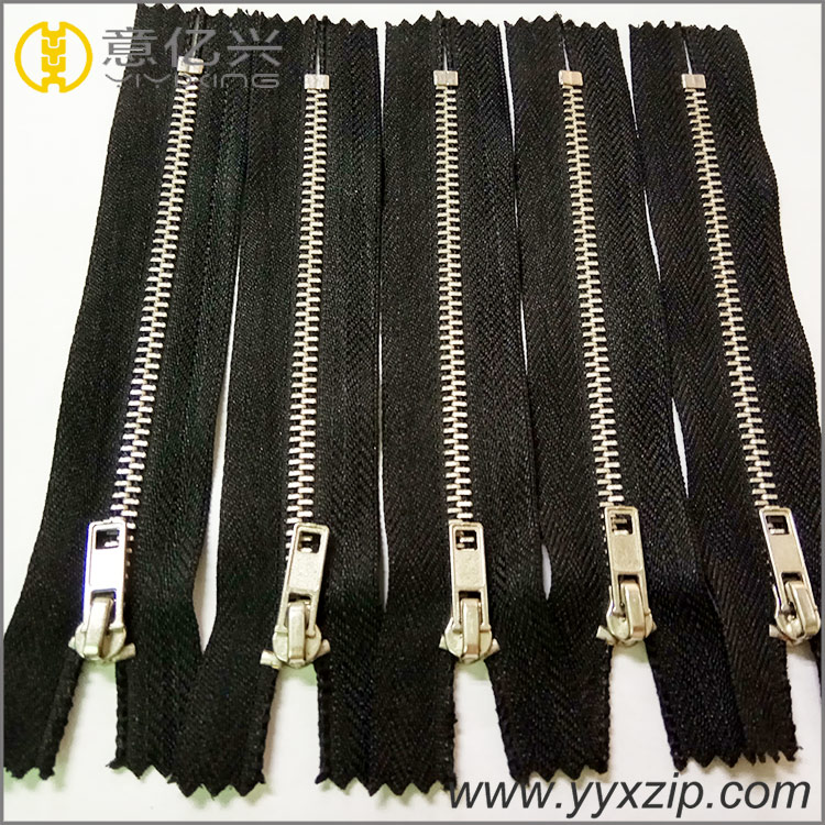 Fashion Color Metal Zipper