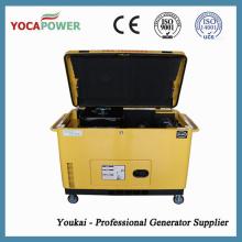 Generador de energía eléctrica a prueba de sonido de tres fases 10kw generador