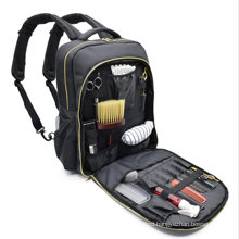Waterproof Salon Hair Tools Hairdressing Salon Bag, Large Capacity Hair Stylist Cosmetic with USB Charge Bagpack