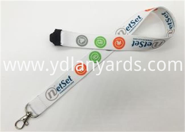 School Dye Sublimation Lanyards