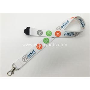 Polyester Lanyards With Dye Sublimation Printing