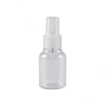 Botella para mascotas de 55ml con pulverizador Botella redonda