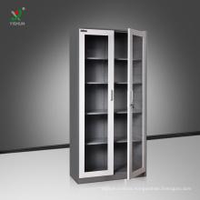 Glass Door Steel Cabinet Office Use Steel Filing Storage Cabinet
