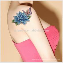 Etiqueta engomada impermeable garantizada del tatuaje del cuerpo 3D del arte de la seguridad atractiva del estilo