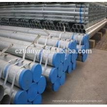 De boa qualidade ASTM A179 Tubo de aço galvanizado na China