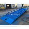 Rampa móvil de la yarda del CE del proveedor de China de 15 toneladas / rampa de cargamento del camión de la caja