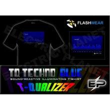 [Супер дело]Оптовая моды горячей продажи футболки А34,El футболки,LED футболки