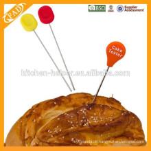 Silikon-Kopf-Kuchen-Design-Tool, Food-Grade-Kuchen-Tester