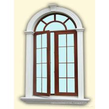 Europe Style Feelingtop Casement Aluminum Swing Window