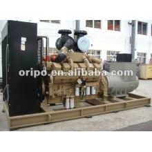 60Hz 3-phasige große Power offene Typ 906kva / 725kw Diesel-Aggregat mit Cummins KTA38-G2 und bürstenloser Leadtech-Generator