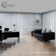 Thermal insulated japanese style office vertical window blinds