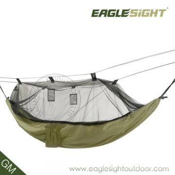 Hamaca de paracaídas con mosquitera de viaje
