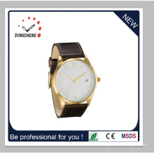 2015 Newest Hot Sale Casual Wristwatch with Leather Belt (DC-1415)