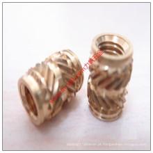 2016 por atacado de bronze Knurled Nut Insert Fabricante China Fornecedor