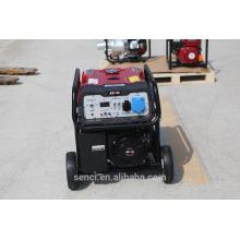 5KW Mini aire de refrigeración de gasolina Generador eléctrico de arranque eléctrico