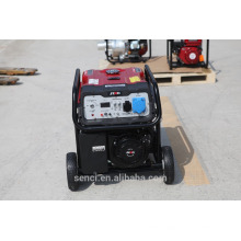 5KW Mini Air Cooling Бензиновая мощность Электрический пусковой генератор