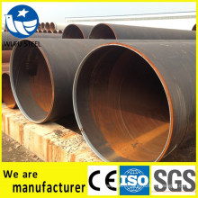 High pressure welded black LSAW Q235 steel pipe