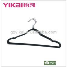 Percha de metal recubierta de PVC