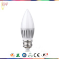 Daylight LED E14/E17 Gold C30 Candle Bulb for 4W/6W/8W/10W