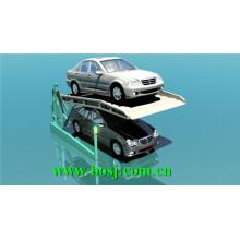 Verzinkte Bodenplatte Stereo Garage Roll Forming Machine Anbieter Singpore