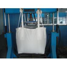 Bulk Bag com Full Top aberto para transporte de material de resíduos
