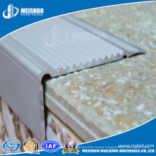 Anodised Aluminum Series Safety Abrasive Non Slip Nosings