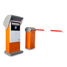 RFID car park management system with parking lot entrance ticket machine