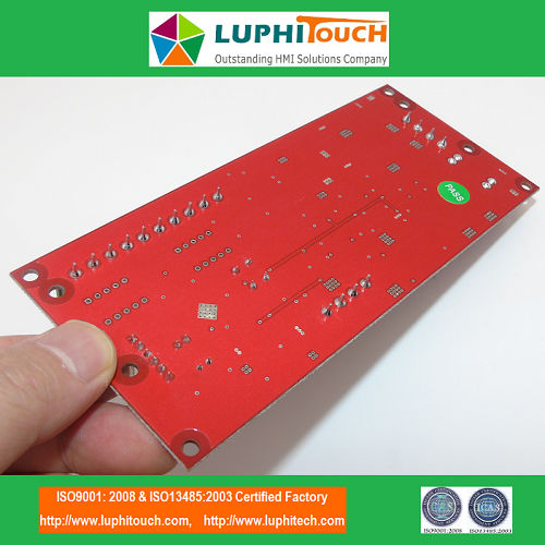 Red Color Industrial Controlling Circuit Board Assembly PCBA