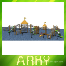 best quality wooden outdoor climbing playgrounds for sale