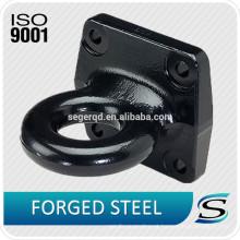 Olho de reboque forjado usado no reboque e no caminhão