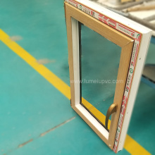 Puerta de PVC doble acristalamiento UPVC Sash Windows Costo