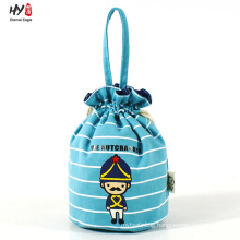 Top quality creative canvas drawstring bag