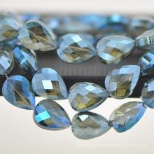 2018 joyas de moda AB color cristal grande gota colgante en bulto CP099