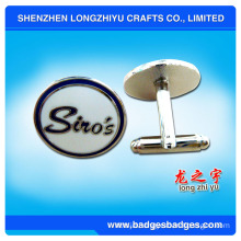 Hot sale make custom fashion delicate cufflinks with box