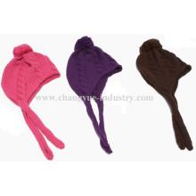 Warme Winter stricken Hut mit Ohrklappe für Männer und Frauen