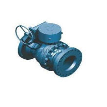 Double-block Trunnion Ball Valve