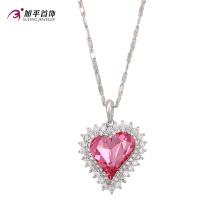 XN4773-large rhinestone heart pendant Crystals from Swarovski,chinese couple love fashion heart pendant