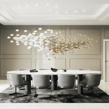 Pendentif de lustre mené à la maison de conception moderne