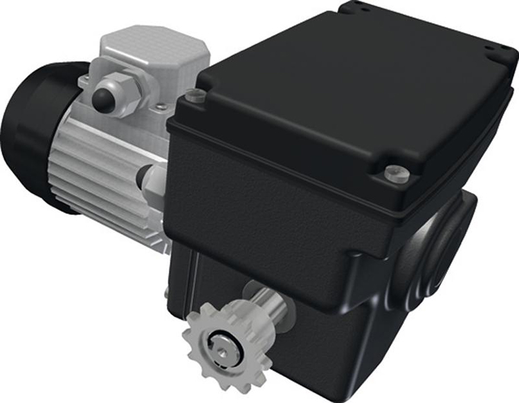 gear motor for ventilation-sk2